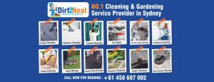 Dirt2Neat Cleaning Service Provider in Sydney 300x115
